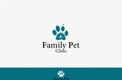 Logo family pet