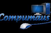 Compumaus logo ontwerp